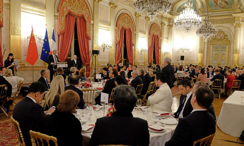 FCF | First Gala dinner of the France China Foundation at Hôtel de Lassay in Paris